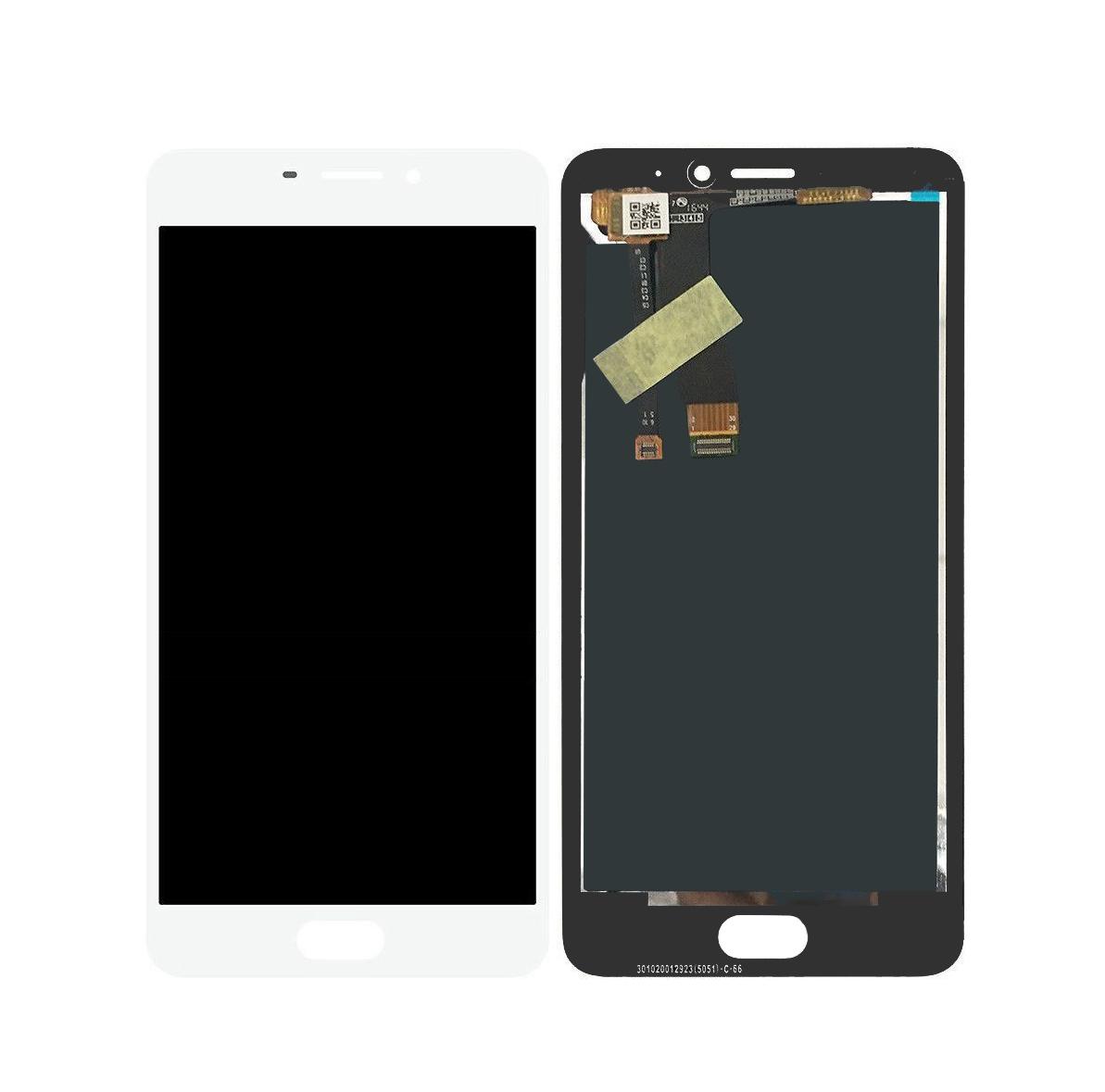 Дисплей Meizu M5 mini с сенсором (тачскрином) White Original, фото 1