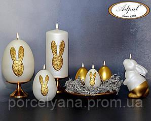 Пасхальная свеча зайка Bunny 11 см Adpal