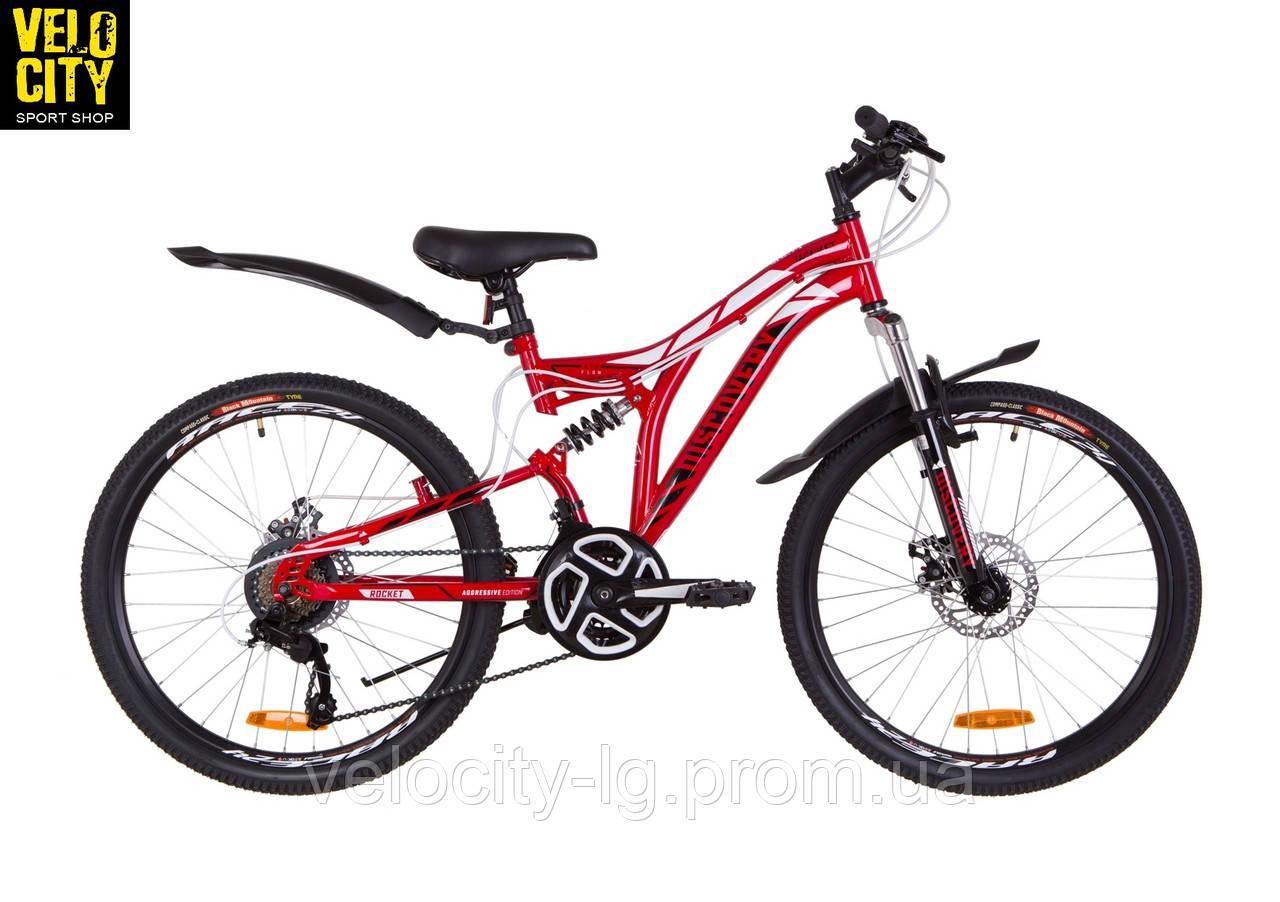 "Велосипед 24"" Discovery ROCKET DD 2AM 2019"