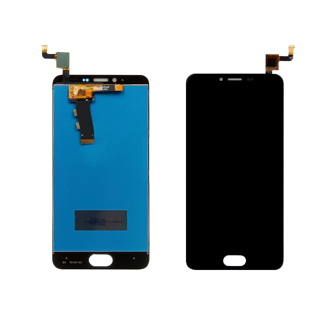 Дисплей Meizu M5 с сенсором (тачскрином) Black Original