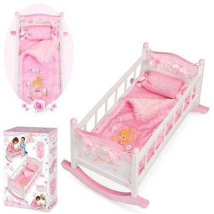 Кровать для куклы (Baby Born) TM DeCuevas арт. 54523