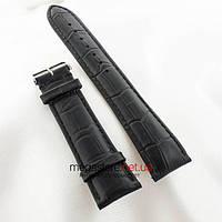 Кожаный ремешок для часов Vacheron Constantin black (05607), фото 1