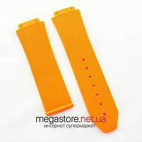 Для часов ремешок Hublot big bang orange (05616), фото 1