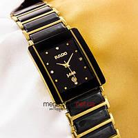 Женские наручные часы Rado integral jubile gold black (05690) реплика