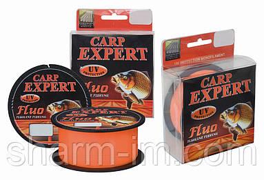 Волосінь Carp Expert UV Fluo Orange 300 м 0,4 мм/18,7 кг зі светонакопителем