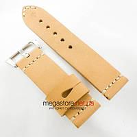 Кожаный ремешок для часов Panerai brown 26mm (05744), фото 1