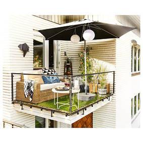 Балкон и сад