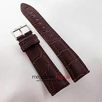 Кожаный ремешок для часов Vacheron Constantin (22 мм) коричневый (05761), фото 1