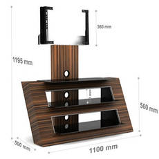 "Стол для ТВ LCD/LED ALEXIA 110-01 22"" – 55"", фото 3"
