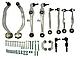 Комплект рычагов передней подвески, AUDI A4/A6 II VOLKSWAGEN Passat B5,пр-во Lemforder 3553701 (КОНУС 16 ММ), фото 2