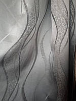 Штора Волна стальная, фото 1