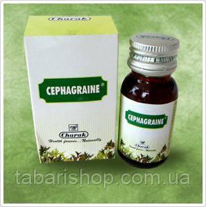 Сефагрейн, Сephagraine, 15мл - от головной боли, мигрени