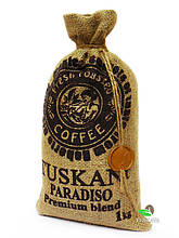Кава в зернах Tuskani Paradiso, 1 кг (100% арабіка)