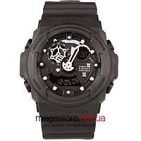 Мужские наручные часы Casio g-shock ga-300 black black (05856) реплика