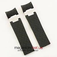 Для часов ремешок Ulysse Nardin maxi marine diver silver black (05917), фото 1
