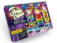 Набор парафиновые свечи с кристаллами Magic Candle Crystal Danko Toys