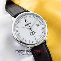 Мужские наручные часы Рекорд silver white (06144)