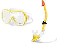 Набор для подводного плавания маска и трубка 8+ INTEX 55647