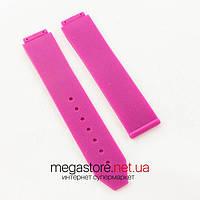 Каучуковый ремешок для часов Hublot big bang woman pink (06275), фото 1