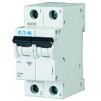 Автоматический выключатель Eaton PL4 6А 2Р