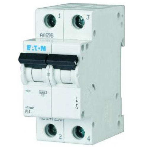 Автоматический выключатель Eaton PL4 20А 2Р