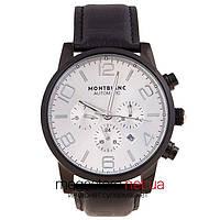 Мужские наручные часы Montblanc silver black (06338) реплика