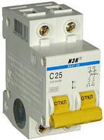 Автоматический выключатель IEK ВА47-29М 25А 2Р