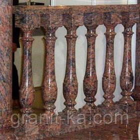 Балясини для сходів з граніту