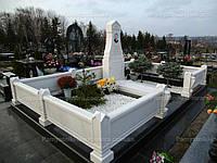 Памятник из мрамора с фотокерамикой №78