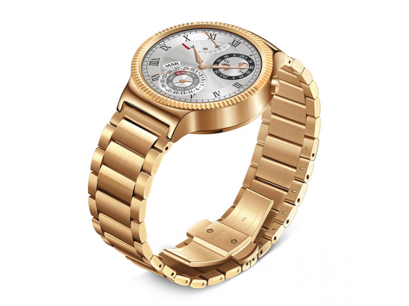 Смарт-часы HUAWEI Watch (Gold Stainless Steel with Gold Stainless Steel Link Band)