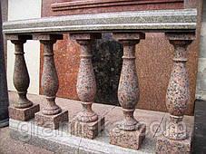 Поручні і балясини з граніту, фото 2
