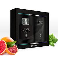 Мужской подарочный парфюмированный набор с ароматом Louis Ламбре  / Lambre