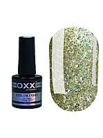 Гель лак Oxxi Star Gel №002 (Светлый золотистый , с блестками и слюдой) 10 мл