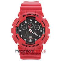 Мужские наручные часы Casio g-shock ga-100b-4aer (06658) реплика
