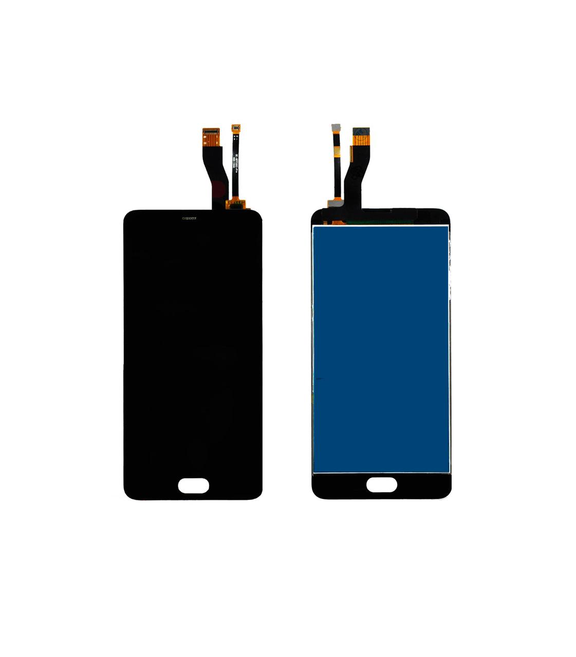 Дисплей Meizu M5 Note с сенсором (тачскрином) Black Original, фото 1