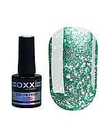 Гель лак Oxxi Star Gel №004 (мятный , с блестками и слюдой) 10 мл