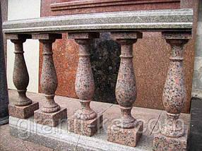 Виготовлення балясини з граніту