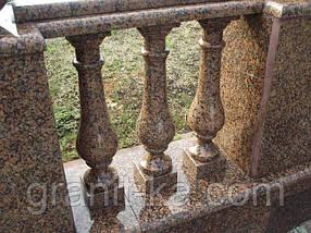 Установка балясини з граніту