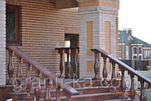 Установка балясин из гранита, фото 2