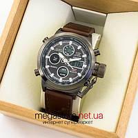 Мужские армейские наручные часы Amst black black am3003 (06790)