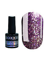 Гель лак Oxxi Star Gel №005 (Сиреневый , с блестками и слюдой) 10 мл