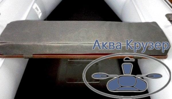 Мягкое сиденье (мягкая накладка на банку) для надувной лодки ПВХ