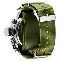 Чоловічі армійські наручний годинник Amst black black am3003 (06817)