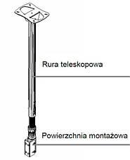 Кронштейн потолочный CM21, фото 3