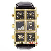 b0145d5e Мужские наручные часы Ice Link ambassador snow gold black (06829) реплика