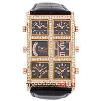 b947c4f9 Мужские наручные часы Ice Link ambassador snow gold black (06831) реплика