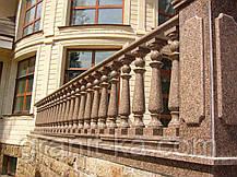 Перила для лестницы из гранита, фото 2