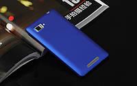 Пластиковый чехол для Lenovo K910 Vibe Z синий, фото 1