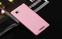 Пластиковий чохол для Lenovo K910 Vibe Z рожевий, фото 1
