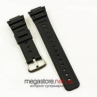 Каучуковый для часов ремешок Casio black 26 мм (06865), фото 1